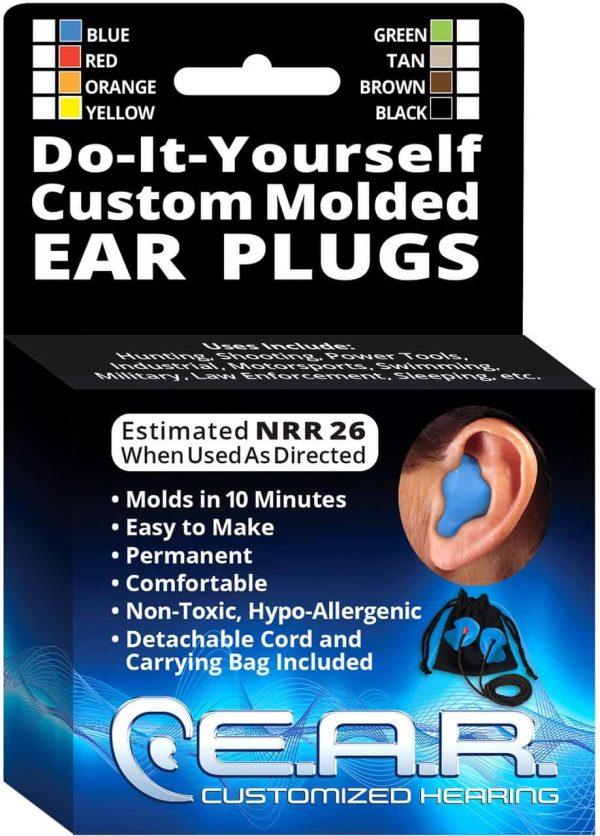 DIY Custom Molded Earplugs Box Kit