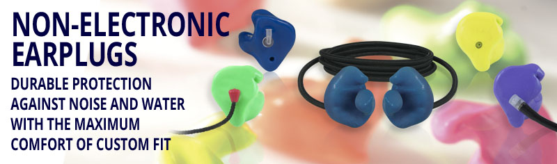 Non-Electronic Earplugs