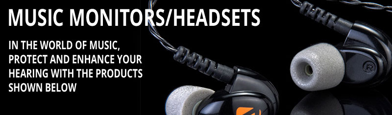 Music Monitors/Headsets