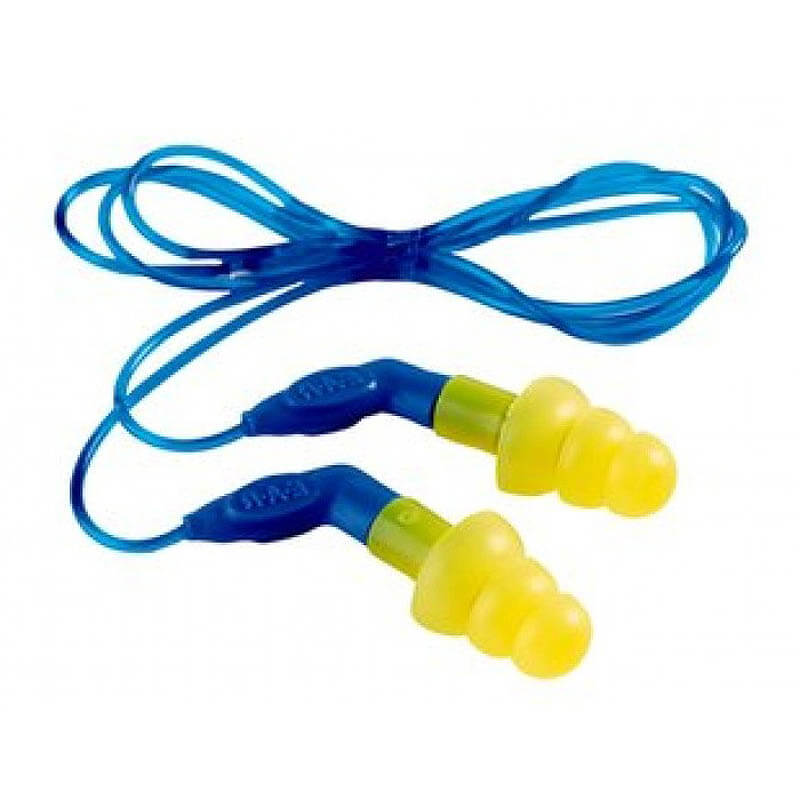 E-A-R Ultra-Fit 27 Tri-Flanged Earplugs 1