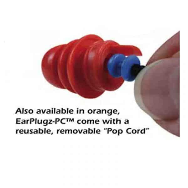 EarPlugz-PC® - Metal Detectable Option