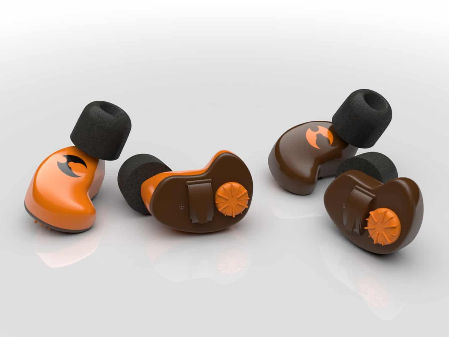 Picture of shothunt earplugs for hunting and shooting