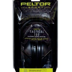 Peltor™ - Tactical 100 Electronic Ear Muff Packaging