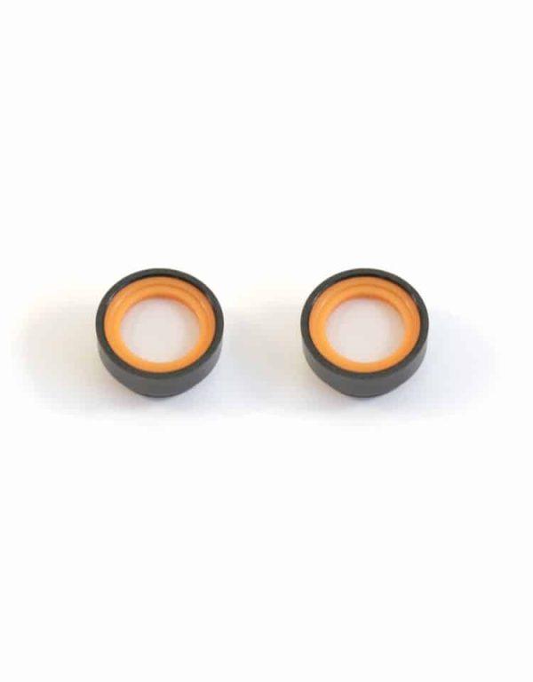 DEC Spare Filters Orange and Black