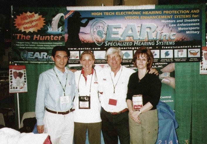 Garry Gordon promoting recreational audiology
