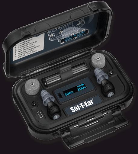 Sāf-T-Ear® Rechargeable Electronic Earplugs