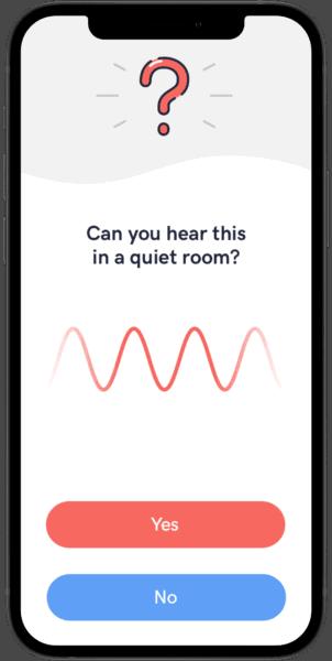 View of new Audio Cardio app